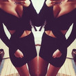 SEXY V-NECK TIGHT HOLLOW OUT DRESS