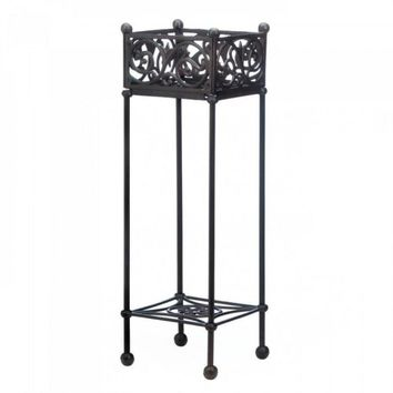 Cast Iron Square Plant Stand