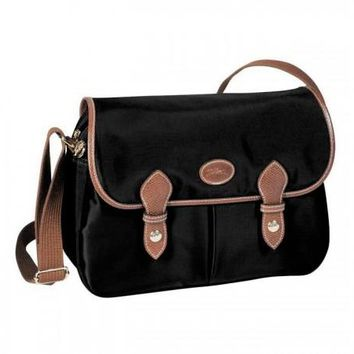 LONGCHAMP LE PLIAGE MESSENGER BAGS CURRY