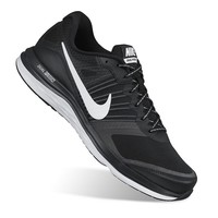 Nike Dual Fusion X Men's Wide-Width Running Shoes (Black)