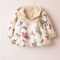 Vintage Inspired Girls Clothes Vintage Inspired Rabbit Trench Coat | Vindie Baby