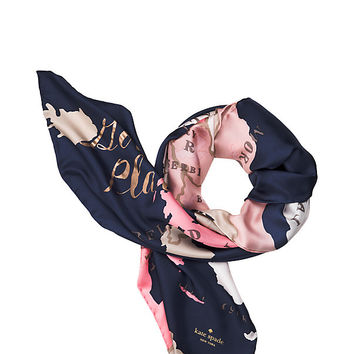 going places square scarf | Kate Spade New York