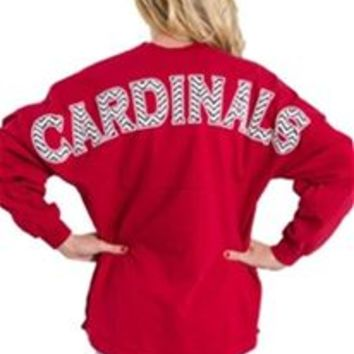 Cardinals Baseball Spirit Jersey Pullover Shirt J0470-RED