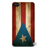Premium Direct Print Distressed Puerto Rico Perto Rican National Flag iphone 6 Quality Hard Snap On Case for iphone 6/Apple iphone 6 - AT&T Sprint Verizon - White Case PLUS Bonus RCGRafix The Best Iphone Business Productivity Apps Review Guide