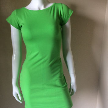 The Green Louise Dress