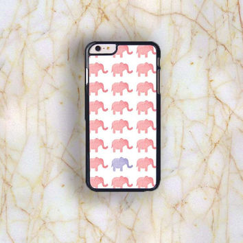 Dream colorful Dream colorful Pink Elephant Plastic Phone Case For iPhone iPhone 6 Plus (5.5