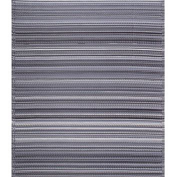 7111 Gray Recycled Indoor/Outdoor Area Rugs