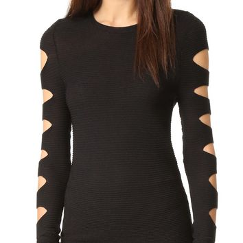 Deana Cutout Sweater