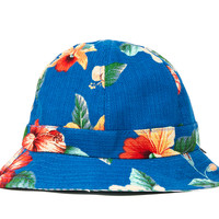 LESS Flower Pattern Bucket Hat | SWGNT