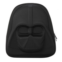 LOUNGEFLY STAR WARS DARTH VADER 3D MOLDED NYLON BACKPACK