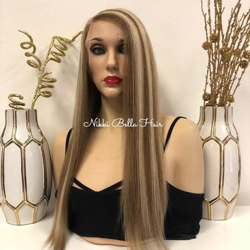 Blond Balayage Full Lace Wig- Ricki 20""
