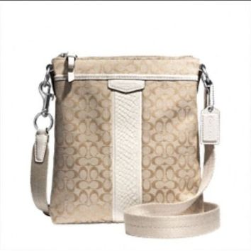 white coach crossbody bag - Google Search
