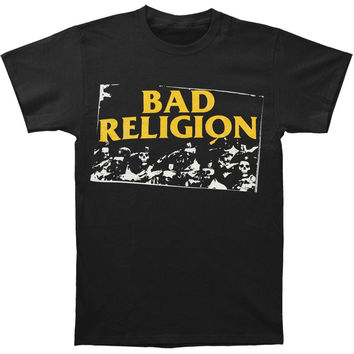Bad Religion Men's  President Says T-shirt Black Rockabilia