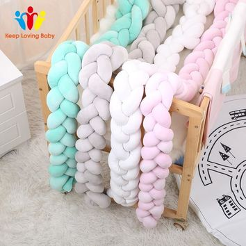 Baby Infant Bedding Bumper Newborn Crib Pad Protection Cot Bumpers Bedding Accessories Baby Crib Bumpers Baby bed Decoration