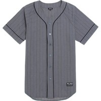 LRG Baseball Jersey - Mens Tee - Black