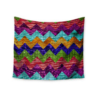 "Beth Engel ""Natural Flow"" Chevron Wall Tapestry"