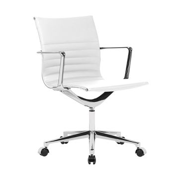 Em Office Chair Mid Back White
