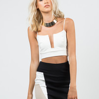 Wired Cropped Top