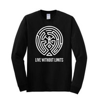 Westworld Live Without Limits- Long Sleeve T-shirt