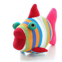 T12 Handmade Big Tropical Fish Stuffed Animal Doll Baby Toys kids pillow Finding Nemo