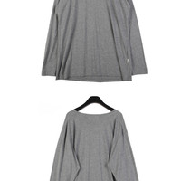 Long Sleeved Loose T-shirt