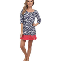 Lilly Pulitzer Alia Beach Cover-Up Bright Navy Treasure - Zappos.com Free Shipping BOTH Ways