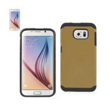 REIKO SAMSUNG GALAXY S6 SLIM ARMOR HYBRID TOUGH CASE IN GOLD