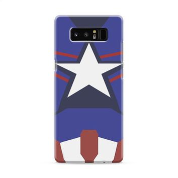 Captain America Age of Ultron New Costume Samsung Galaxy Note 8 Case