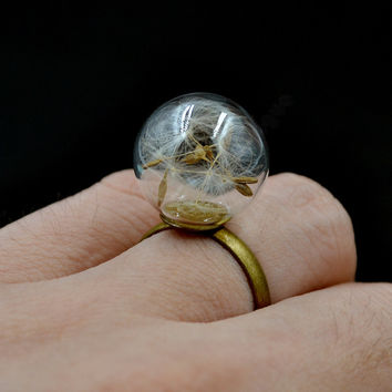 Lychee Romantic Party Cocktail Ring -