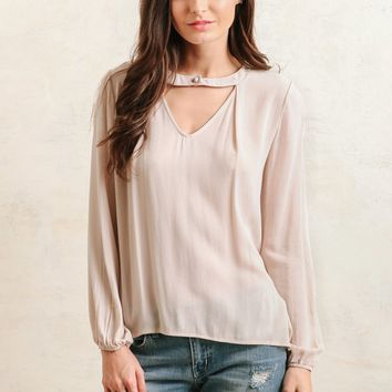 Minka Cutout Blouse