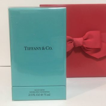 TIFFANY PERFUME BY TIFFANY & CO. FOR WOMEN EDP 2.5 OZ 75 ML NEW IN SEALED BOX