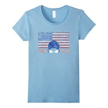 Usa Flag Swimming 2016 Shirt, American Gift, Swim Team