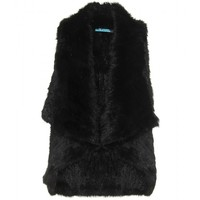 mytheresa.com -  Alice + Olivia - INDIA FUR CASCADE VEST - Luxury Fashion for Women / Designer clothing, shoes, bags