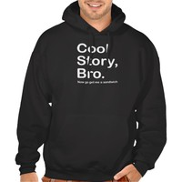 Cool Story Bro, Dark Sandwich Sweatshirts