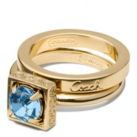 Coach :: New Stone Stacking Ring