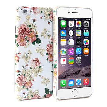 Snap Cover Glossy (Floral Pattern) for Apple iPhone 6 (4.7 inch Display)