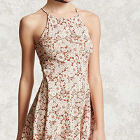 Floral Halter Cami Dress