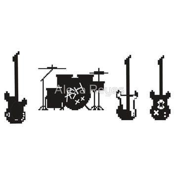 5SOS Instruments T-Shirts & Hoodies