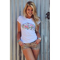 Buffalo Rose Tee by Original Cowgirl Clothing Company