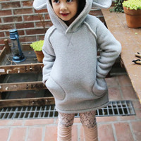 Sheep Hooded Dress