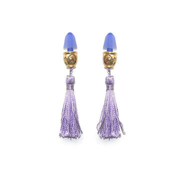 Tassel Ear Plugs from Audrey Hepburn Breakfast at Tiffany's