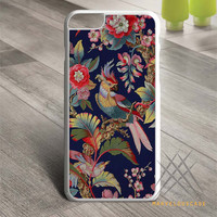 Tropical Birds Flowers Custom case for iPhone, iPod and iPad