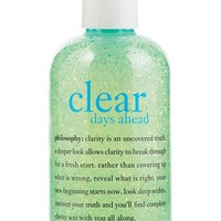 philosophy 'clear days ahead' acne treatment cleanser, 8 oz