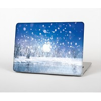 The Frozen Snowfall Pond Skin for the Apple MacBook Pro Retina 13""