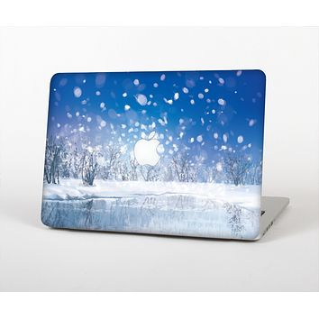 The Frozen Snowfall Pond Skin for the Apple MacBook Air 13""