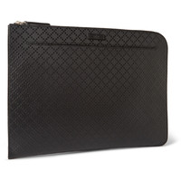 Gucci - Coated Leather Pouch | MR PORTER