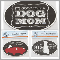 Dog is Good Car Magnets
