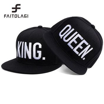DCCKN4D hip hop cap snapback hats queen or king