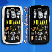 Nirvana Rock Band Legend Samsung Galaxy S3 Case Cover from namina