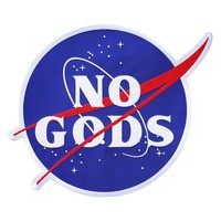No Gods Large Back Patch